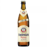 0,5 Liter Flasche Erdinger Weißbier