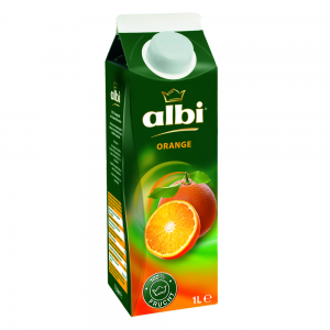 1 Liter Softpack albi Orange