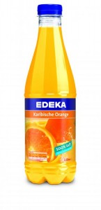1,0 Liter Flasche Karibische Orange