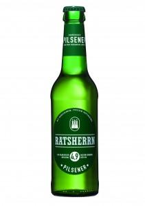 0,33 Liter Flasche Ratsherrn Pilsener