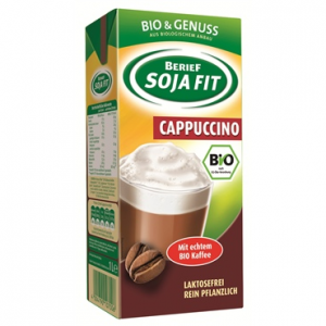 Sojadrink Cappuccino im 1l Tetra Pak