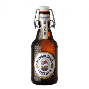 Flensburger Pilsener in der 0,33 Liter Flasche