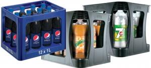 Auswahl aus dem Pepsi Sortiment