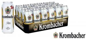 Krombacher Pils in der 05, Liter Dose